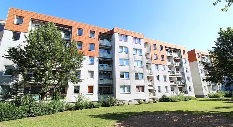 Wohngebäude in der Anne-Frank-Straße 5-10