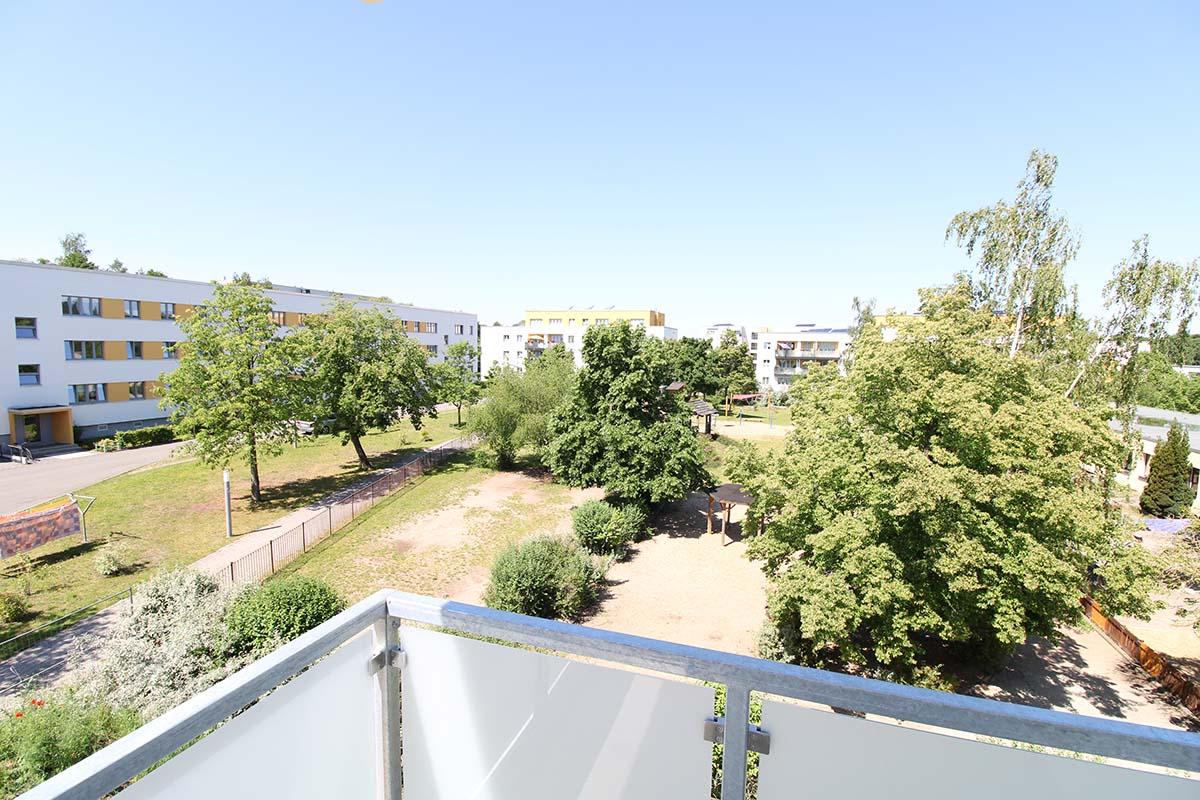 Wuppertaler Straße, Aussicht Balkon