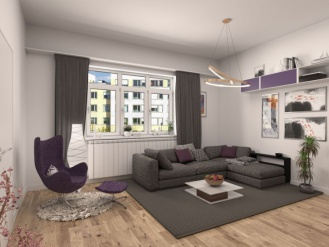 Animation Wohnzimmer